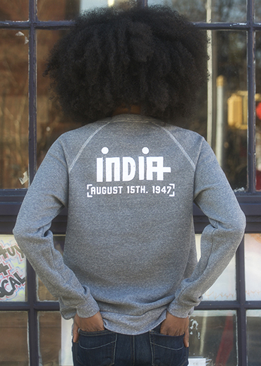 India FLAGShip Sweatshirt | Unisex - Liberated People