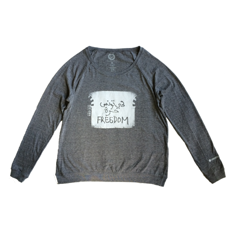 Liberated People Long Sleeve Freedom Tee | Women
