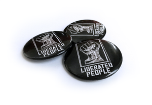 LP Logo Button - Liberated People