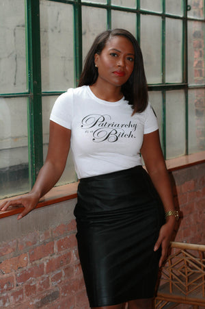 """Patriarchy is a Bitch"" Tee - Liberated People will donate $5 to Black Women's Blueprint 