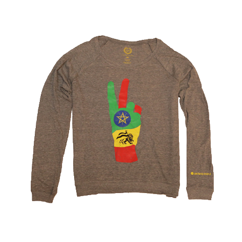 Ethiopia Liberation Date Long Sleeve Pullover | Women