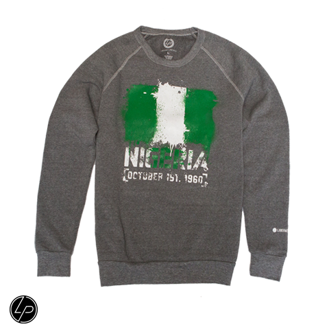 Nigeria FLAGShip Sweatshirt | Unisex - Liberated People