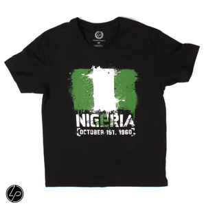 Nigeria FLAGShip Tee | Men - Liberated People