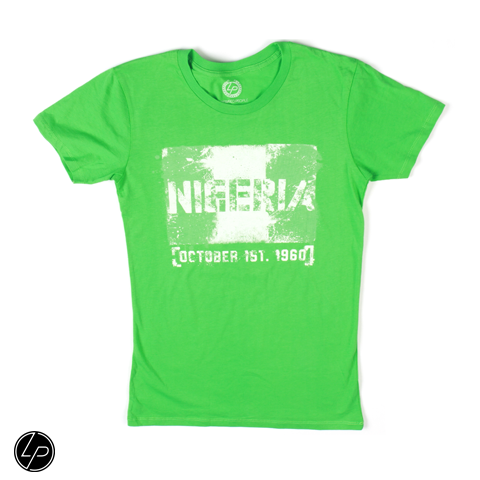 Nigeria FLAGShip Tee | Women - Liberated People