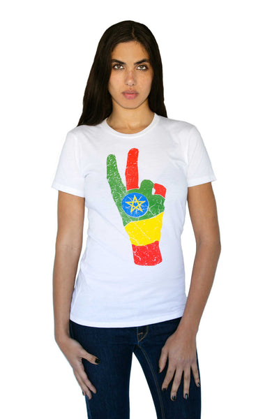 Ethiopia FLAGShip Tee | Women - Liberated People