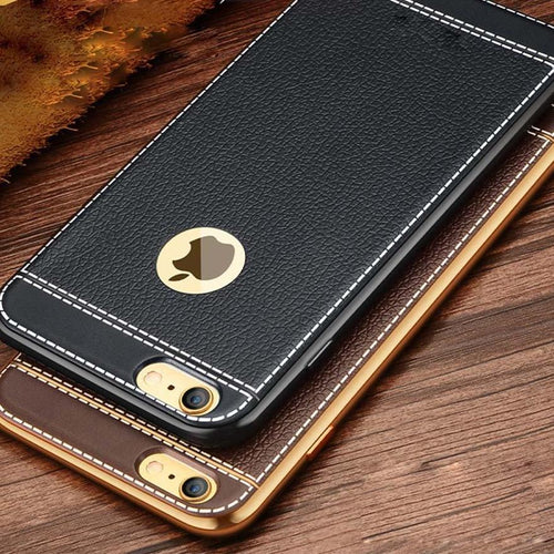 Coque iPhone en cuir