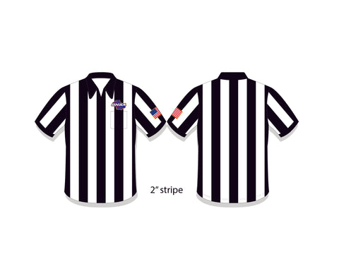 "GHSA Short Sleeve 2"" Referee Shirt"