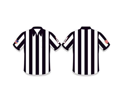 "NHFOA Long Sleeve 2"" Referee Shirt"