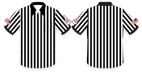 "NHFOA Long Sleeve 1"" Referee Shirt"