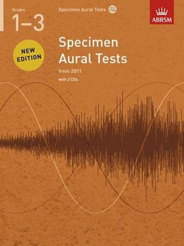 ABRSM Specimen Aural Tests G1-3 Book/CD