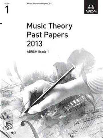 ABRSM Music Theory Past Papers Grade 1 2013