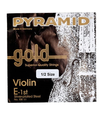 Pyramid Gold Violin String - 1/2 Size Set