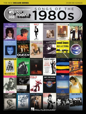 EZ Play Today 368: Songs of the 1980s - The New Decade Series