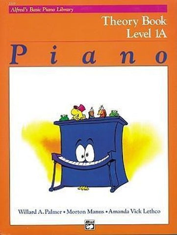 Alfred's Basic Piano Library Theory 1A