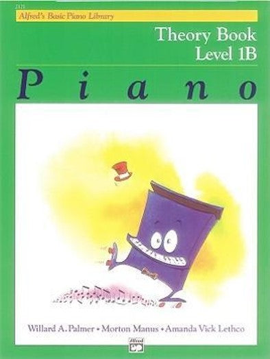 Alfred's Basic Piano Library Theory 1B