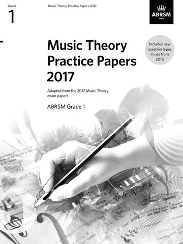 ABRSM Music Theory Past Papers Grade 1 2017