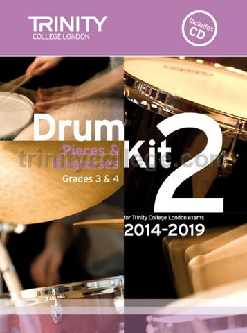 Trinity Guildhall: Drum Kit 2 - Grades 3-4 (2014-2019)