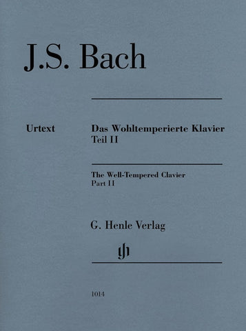 Bach - The Well-Tempered Clavier Part 2 (Henle)