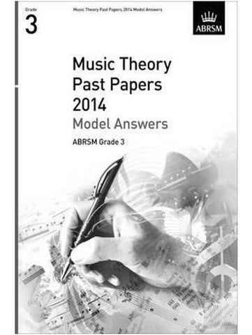 ABRSM Music Theory Model Answers Grade 3 2014