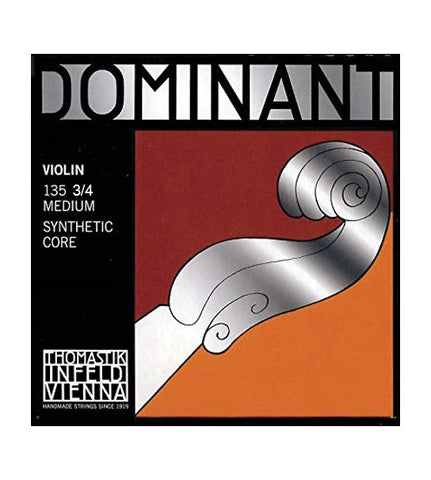 Dominant Violin Strings - 3/4 Size - Pack