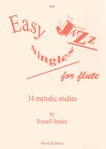 Easy Jazz Singles for Flute - 34 Melodic Studies