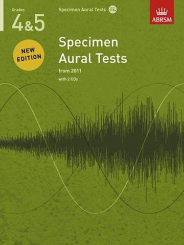 ABRSM Specimen Aural Tests G4-5 Book/CD