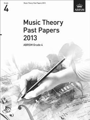 ABRSM Music Theory Past Papers Grade 4 2013