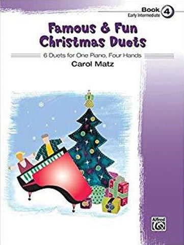 Famous & Fun Christmas Duets Book 4