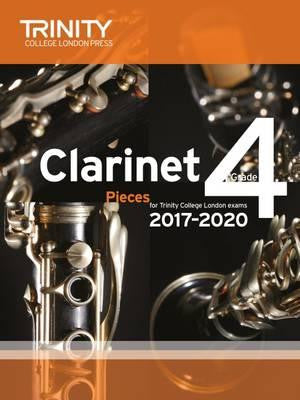 Trinity Clarinet Exam Pieces Grade 4 2017-2020