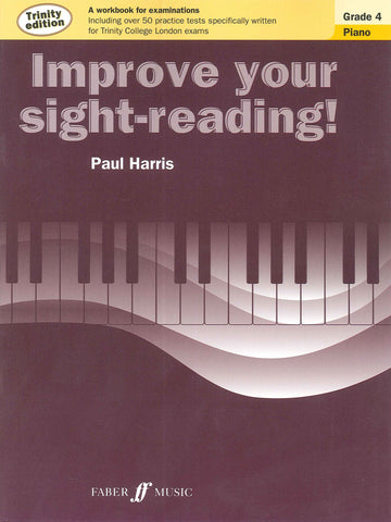 Improve Your Sight-Reading Piano Trinity Edition Grade 4