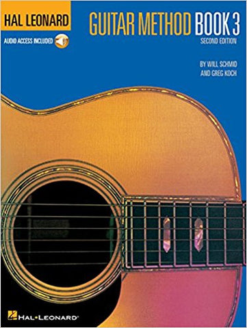Hal Leonard Guitar Method Book 3 w/CD