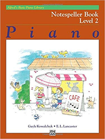 Alfred's Basic Piano Library Notespeller 2