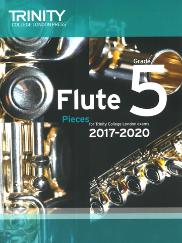 Trinity College Flute Exam Pieces 2017-2020 Grade 5