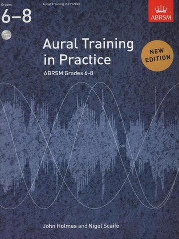 ABRSM Aural Training in Practice Book 3 (Gr 6-8)