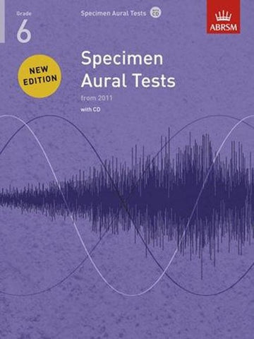 ABRSM Specimen Aural Tests G6 Book/CDs