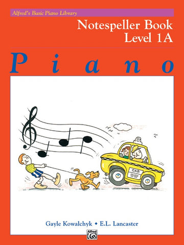 Alfred's Basic Piano Library Notespeller 1A