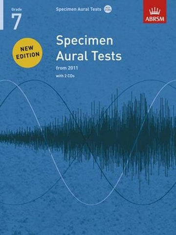 ABRSM Specimen Aural Tests G7 Book/CDs