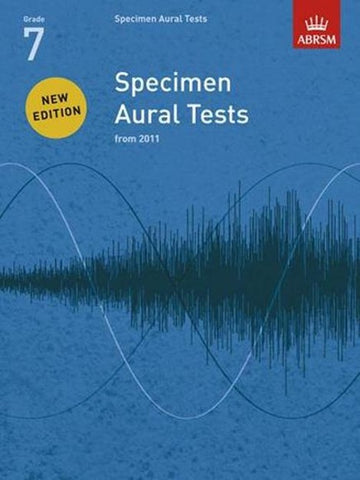 ABRSM Specimen Aural Tests G7 Book only