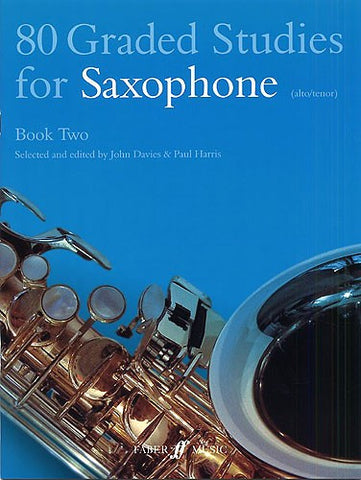 80 Graded Studies for Saxophone Book 2