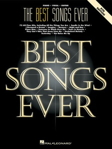 The Best Songs Ever PVG (8th ed)