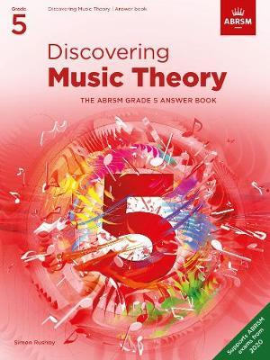 ABRSM Discovering Music Theory Answer Book Grade 5