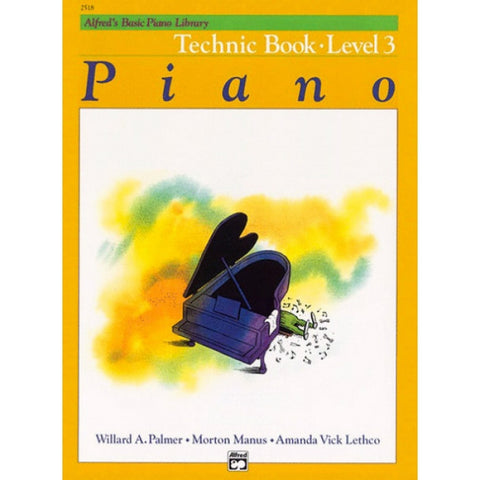 Alfred's Basic Piano Library Technic 3