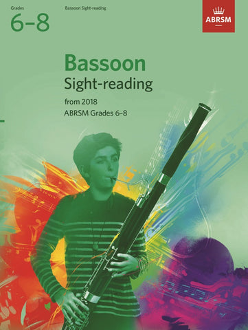ABRSM Bassoon Sight-Reading G6-8 (2018+)