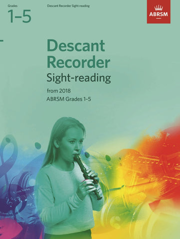 ABRSM Treble Recorder Sight-Reading G1-5 (2018+)
