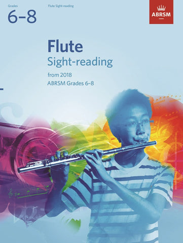 ABRSM Flute Sight-Reading G6-8 (2018+)