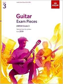ABRSM Guitar Exam Pieces from 2019 Grade 3