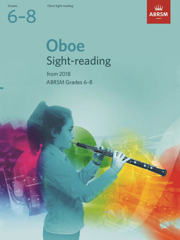 ABRSM Oboe Sight-Reading G6-8 (2018+)