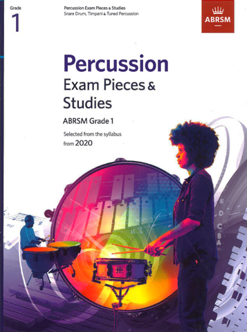 ABRSM Percussion Exam Pieces & Studies from 2020 Grade 1