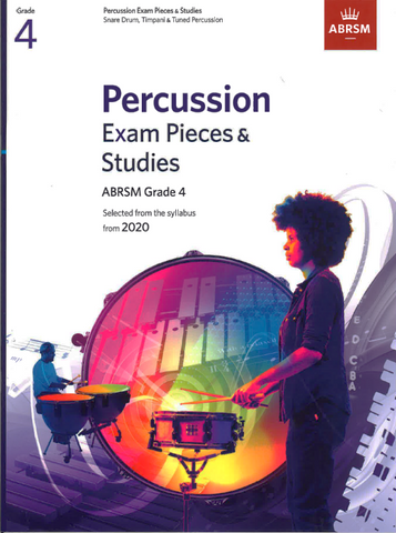 ABRSM Percussion Exam Pieces & Studies from 2020 Grade 4