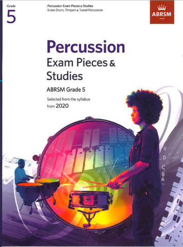 ABRSM Percussion Exam Pieces & Studies from 2020 Grade 5